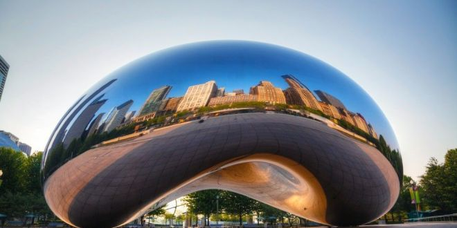 The Bean en Chicago