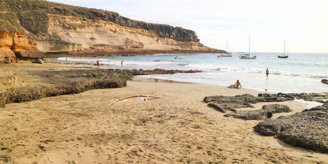 La playa de Diego Hernandez en Tenerife