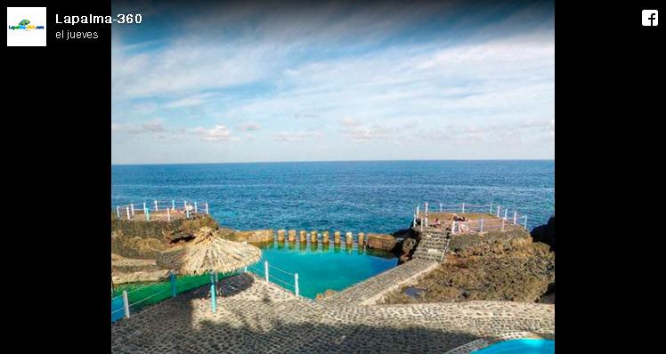 Fotografía Las piscinas del Charco Azul 360