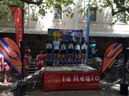 L'équipe venue de Bourg-en-Bresse