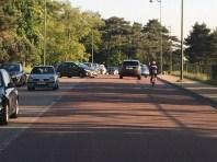 Les automobilistes faisant demi-tour.