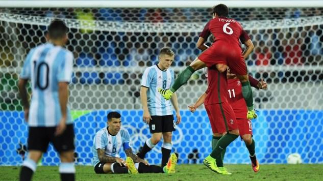 portugal argentine JO 2016 2-0