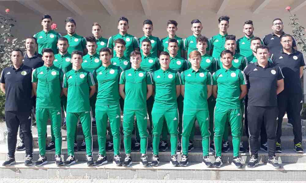 selection U20 bensmain tournoi arabie saoudite coupe arabe 2020