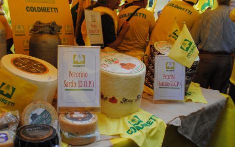 falsari del pecorino italiano