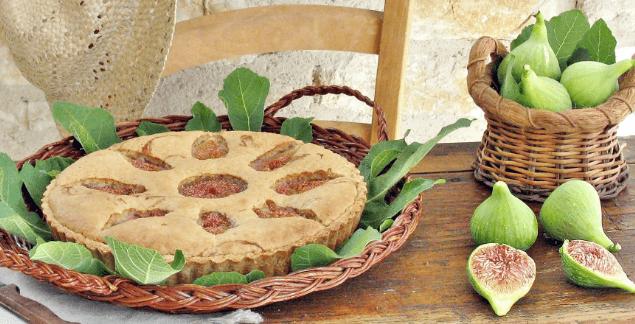 torta vegan ai fichi freschi