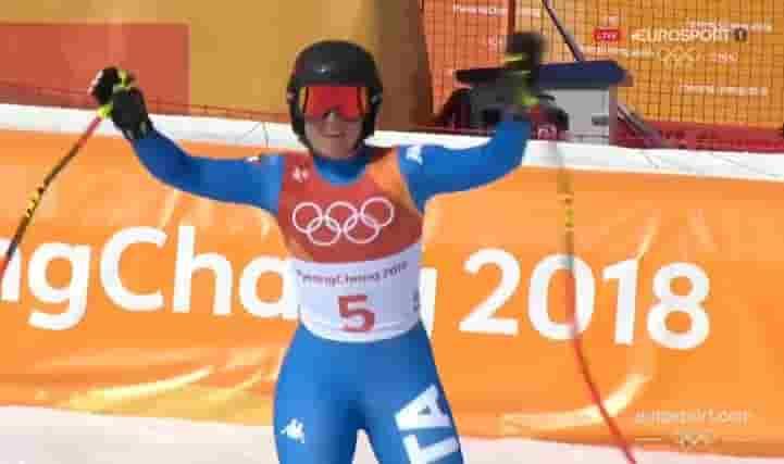sofia goggia oro alle olimpiadi