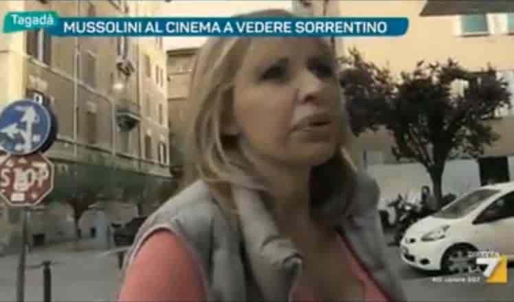 alessandra mussolini critica film loro1