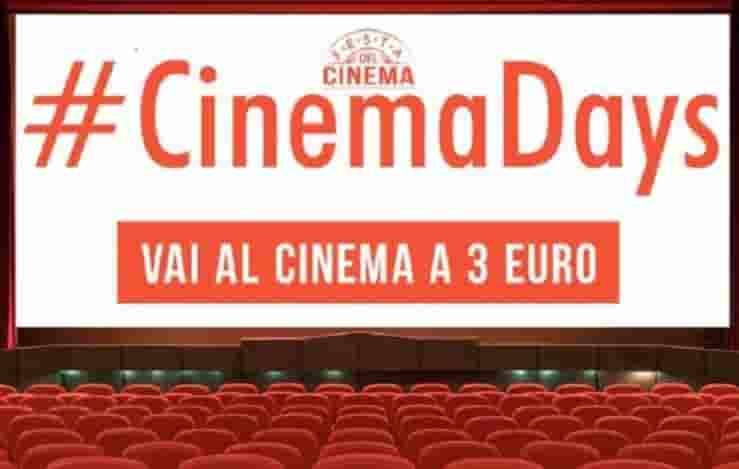cinemadays riempie le sale