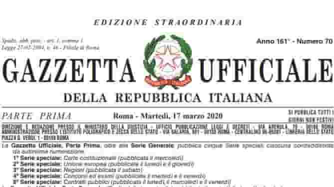 decreto-cura-italia-gazzetta-ufficiale