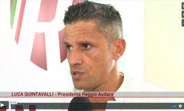 """Quintavalli: """"La Reggiana vuole giocarsela sul campo"""""""