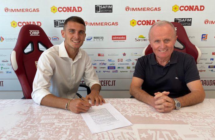 Ufficiale: Simone Mazzocchi è un nuovo giocatore della Reggiana