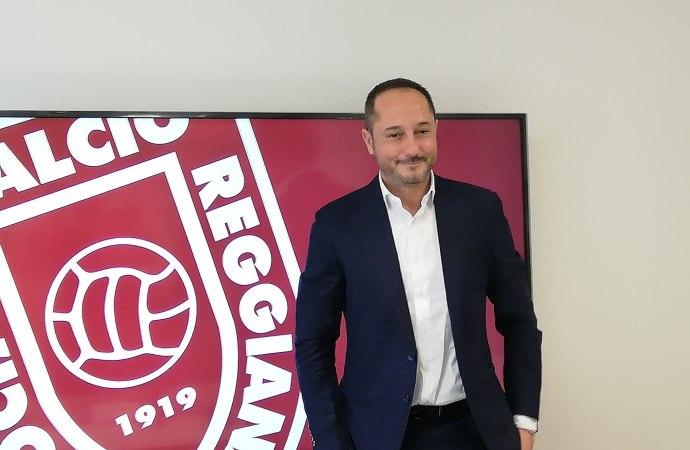 """Il nuovo presidente Salerno: """"Mai più la Reggiana in Serie C"""""""
