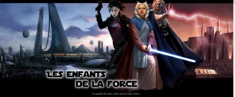 Role play sur Forum - Les enfants de la Force