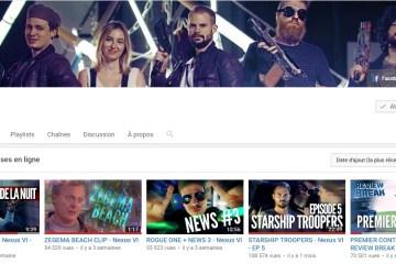 Nexus VI - Chaîne Youtube