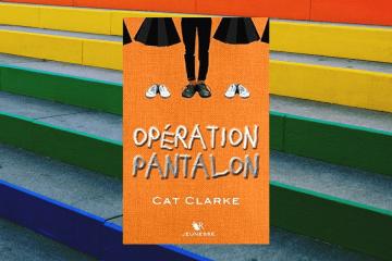 opération pantalon Cat Clarke