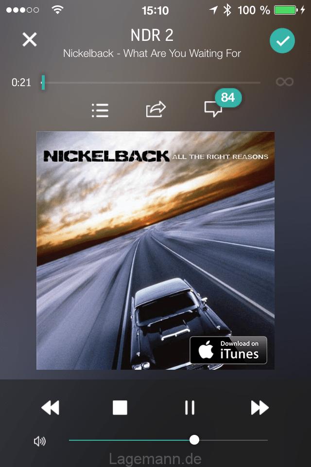 Radio-App TuneIn