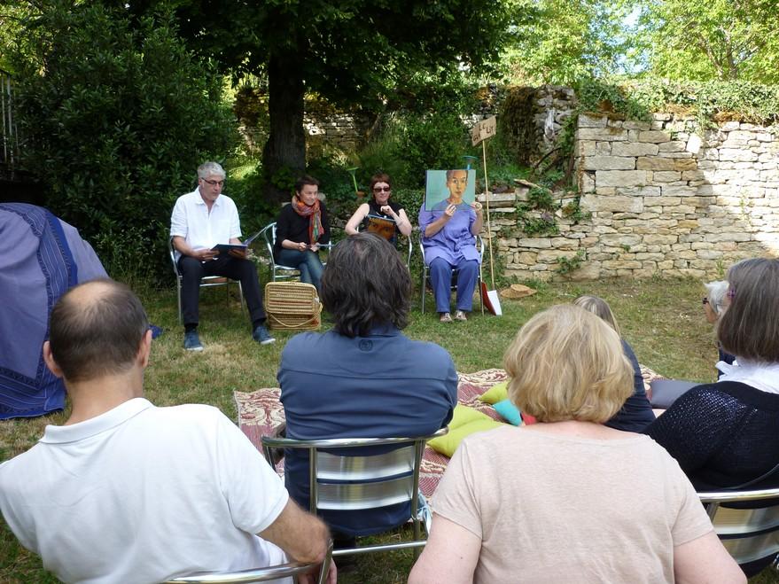 Chambres d'hôtes La Gémuloise stage lecture à voix haute