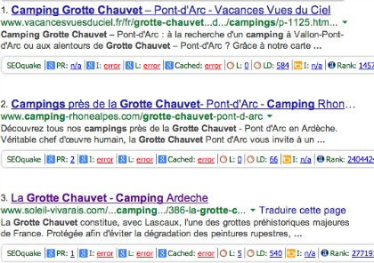 grotte chauvet camping
