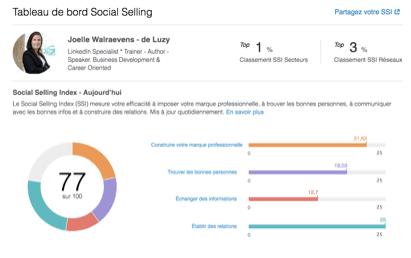 social selling index Walwaerens