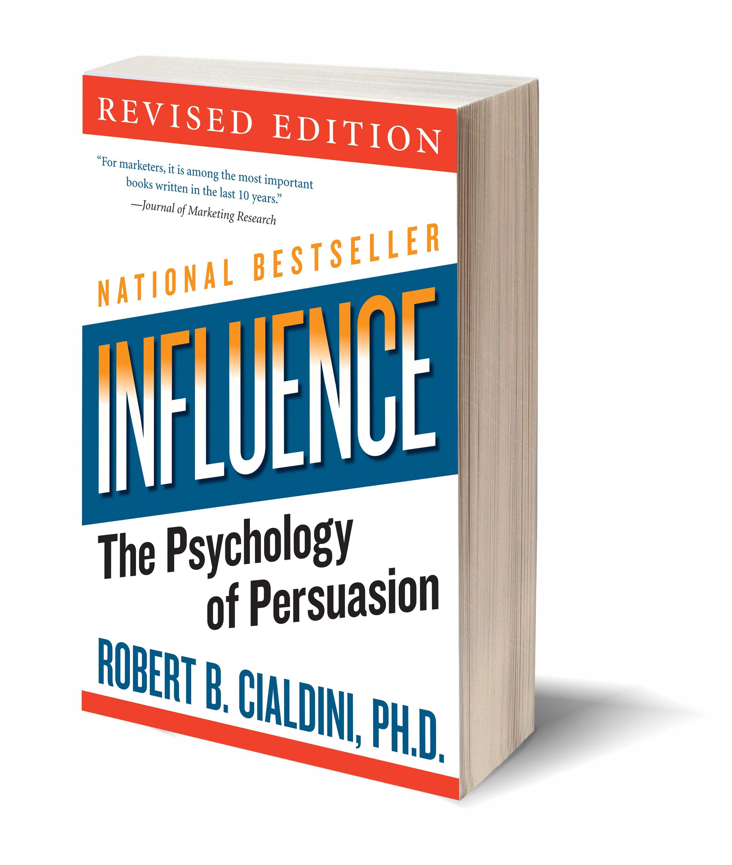Kết quả hình ảnh cho influence book the psychology