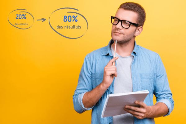 Loi de Pareto : améliorer son efficacité avec le principe des 80/20