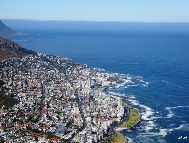 vol en hélicoptère au Cap