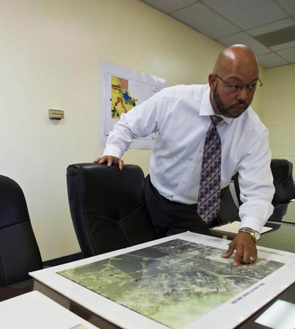 COVER STORY  Prichard moving forward with plans  despite uncertainty     Photo Dan Anderson