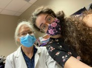 Intern Hourig, with her Bariatric Clinic Preceptor.
