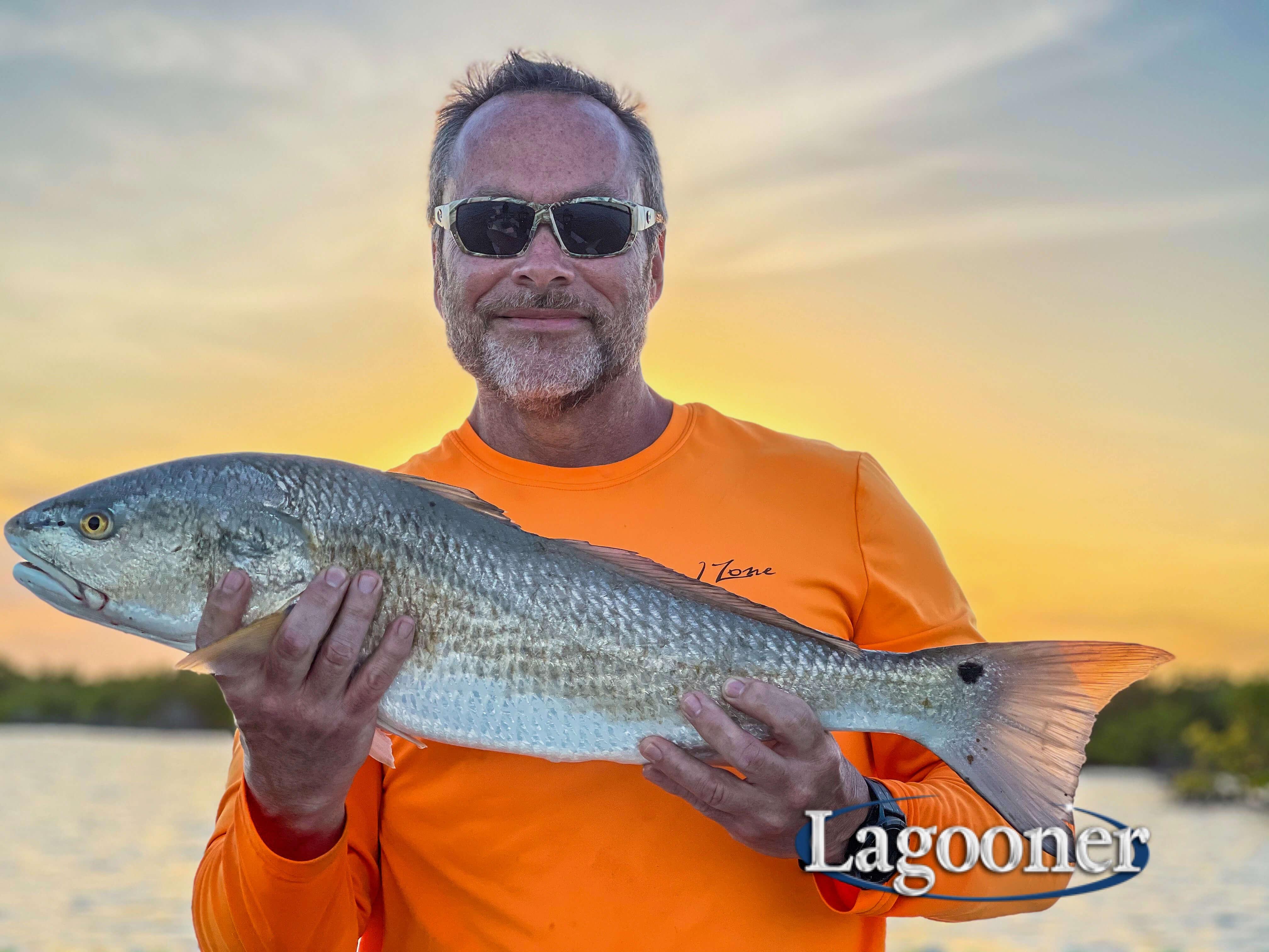 redfish on the banana river lagoon
