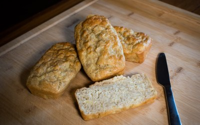 Sweet Onion & Goat Cheese Bread