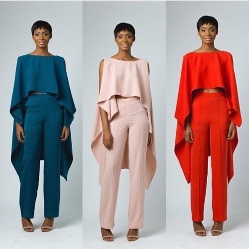 Pieces by designer Ejiro Amos Tafiri