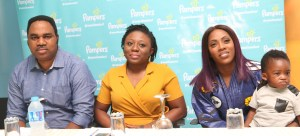 Pampers Thrills Tiwa, Moms at its Newest Plant