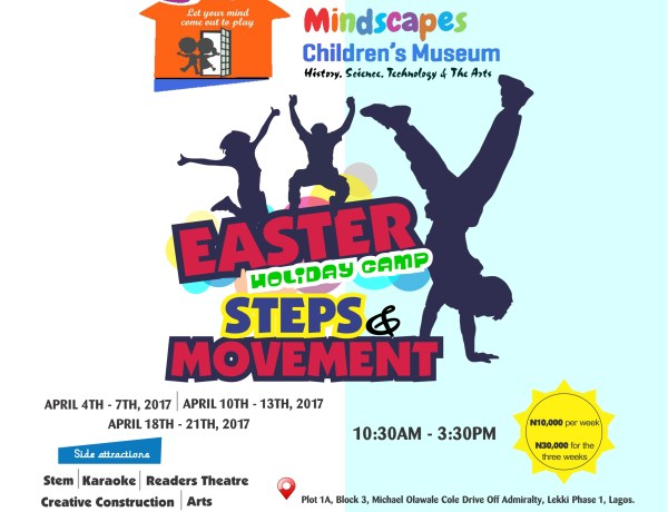 Mindscapes Easter Holiday Camp-Steps and Movement