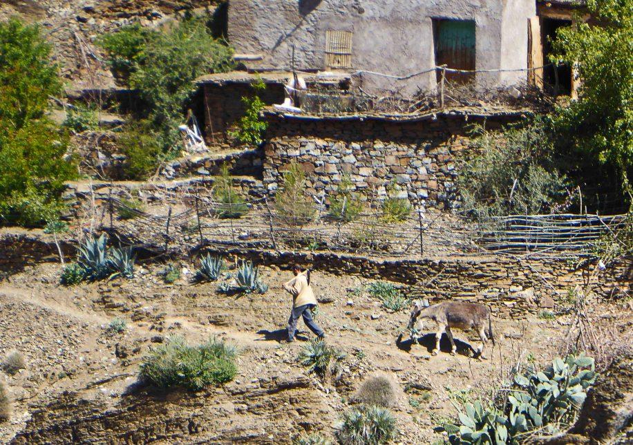 A Berber mountain village