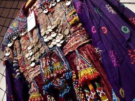 Details of a short jacket of Oriental origin