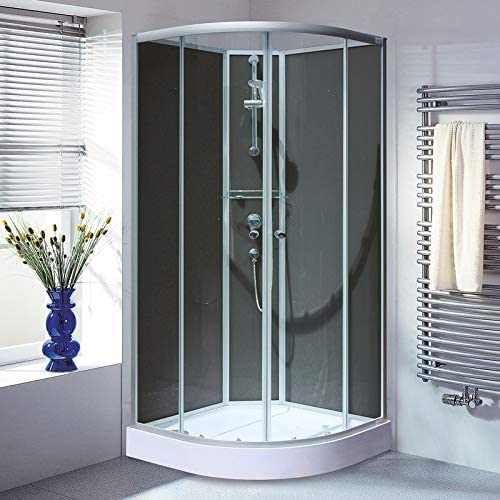 Douche pour grand : cabine intégrale et accessoires