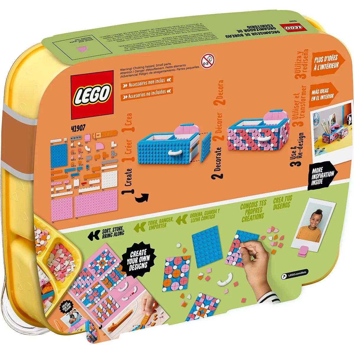 la boite de rangement lego dots 41907
