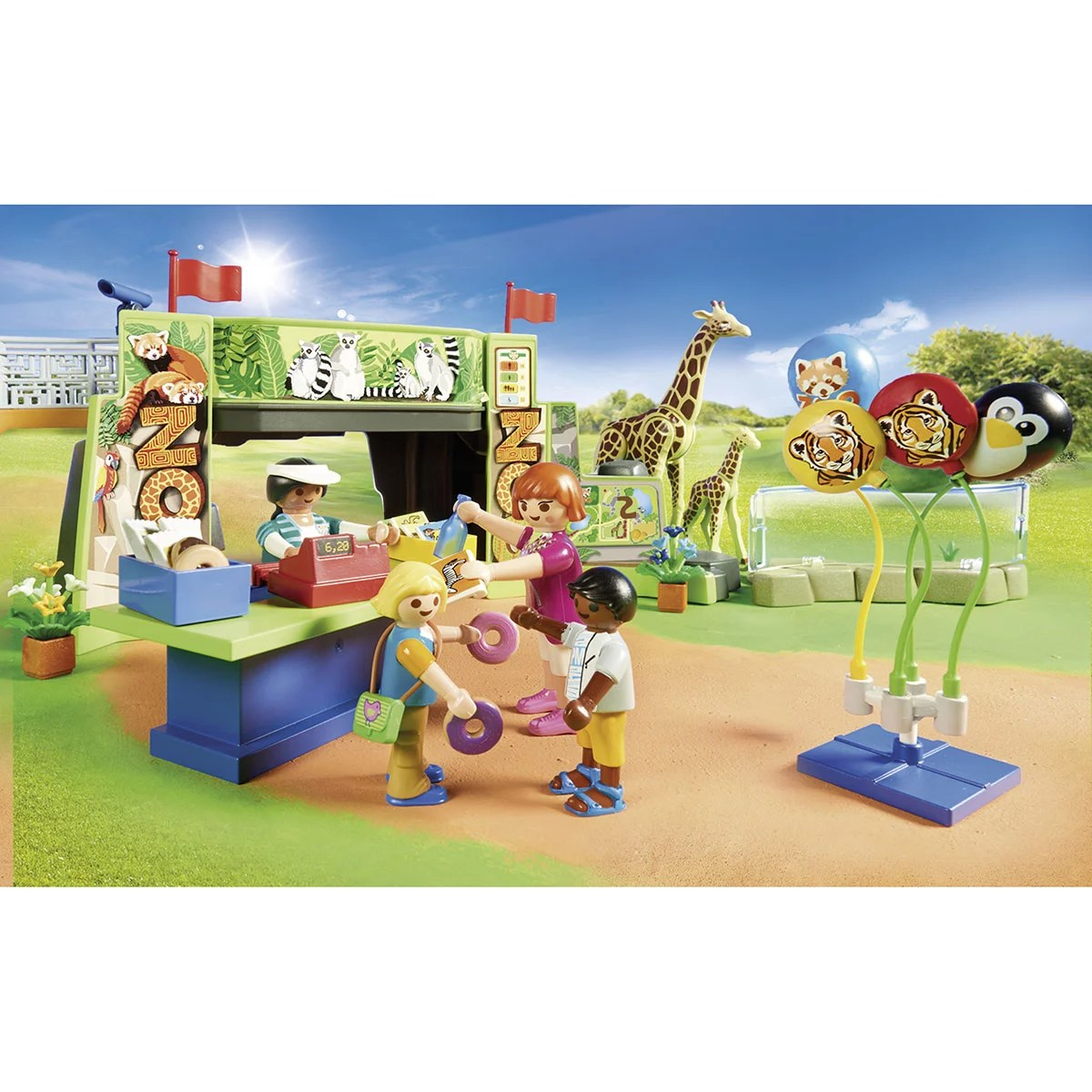 parc animalier playmobil family fun 70341