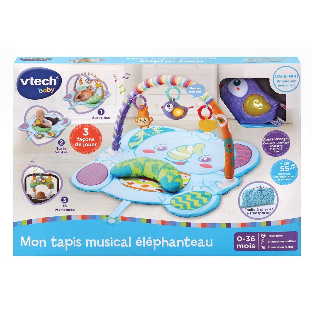mon tapis musical elephanteau