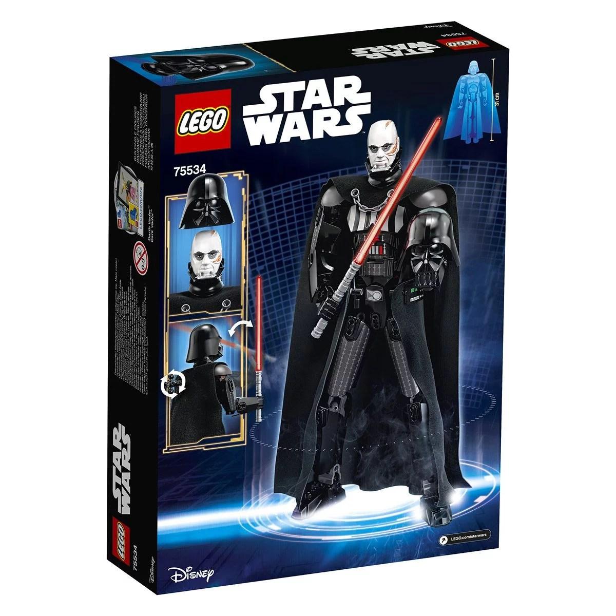 dark vador lego star wars 75534