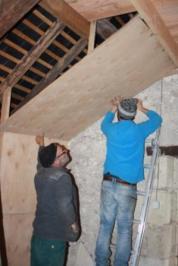 Couloir des chauves-souris : Du grenier au cellier..