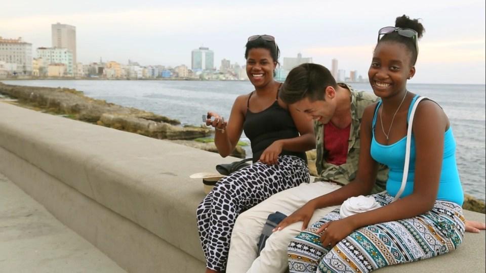 jineteros y jineteras  en La Habana