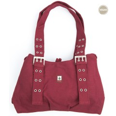 Sac à main bordeaux PURE HV-0006 vegan