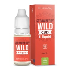 strawberry wild e-liquide cbd harmony