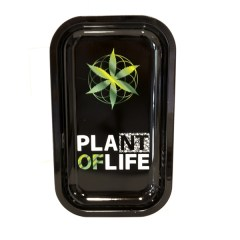 Plateau metal plante of life (grand)