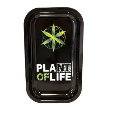 Plateau metal plante of life (grand)