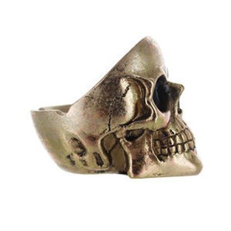 Cendrier Skull (Tête de mort) doré