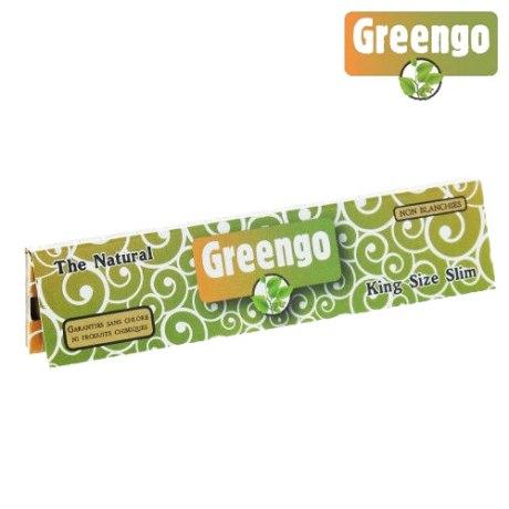 Papier à rouler Greengo non blanchi KS Slim