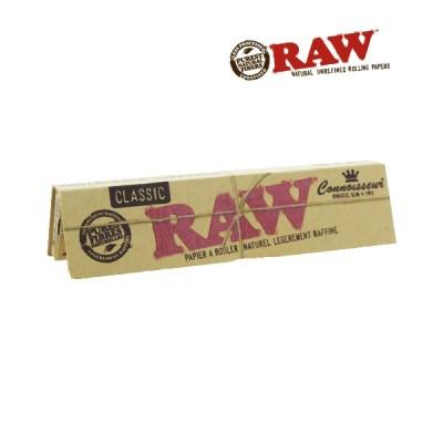 Papier à rouler Raw connoisseur + Tips