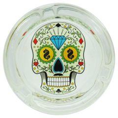 cendrier_verre_rond_skull_dollars